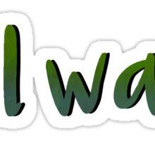Roll Wave Sticker
