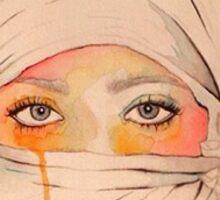 Enigma; Lady in Hijab Sticker