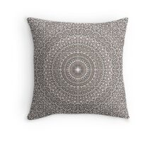 Warm Geometrics Throw Pillow