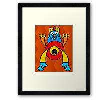 Funny Character  Framed Print