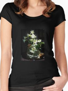 Easter Lilies Women's Fitted Scoop T-Shirt