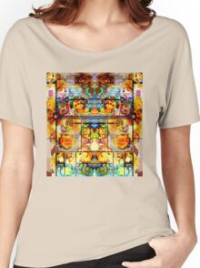 THE GREATEST PSYCHEDELIC PAINTING IN THE GALAXY Women's Relaxed Fit T-Shirt
