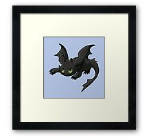 Young Dragon Framed Print