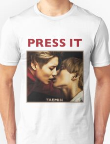 TAEMIN - PRESS IT T-Shirt