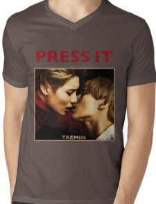 TAEMIN - PRESS IT Mens V-Neck T-Shirt