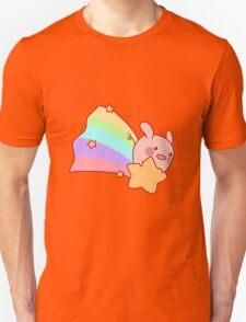 Rainbow Shooting Star Pig T-Shirt