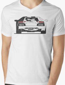 Lamborghini Aventador (rear) Mens V-Neck T-Shirt
