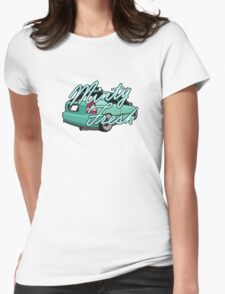 Minty Fresh Womens Fitted T-Shirt