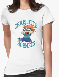 Charlotte Hornets Nickelodeon Night Womens Fitted T-Shirt