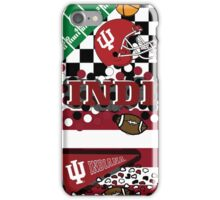 Indiana University Collage iPhone Case/Skin