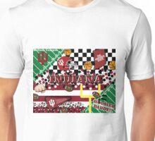 Indiana University Collage Unisex T-Shirt
