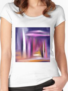 Doorway To The Soul Women's Fitted Scoop T-Shirt