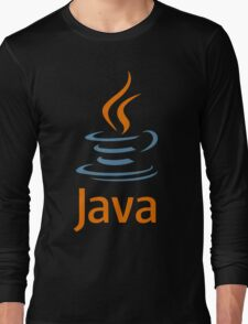 java vintage Long Sleeve T-Shirt