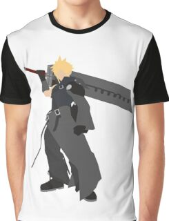 Cloud Strife Vector/Minimalist (Advent Children)  Graphic T-Shirt