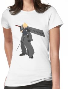 Cloud Strife Vector/Minimalist (Advent Children)  Womens Fitted T-Shirt