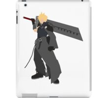 Cloud Strife Vector/Minimalist (Advent Children)  iPad Case/Skin