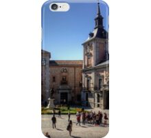 Plaza de la Villa, Madrid iPhone Case/Skin