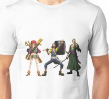 Nami Usopp and Zoro One Piece Unisex T-Shirt