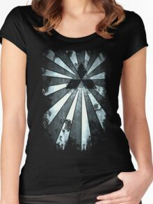 Rays of Mitsubishi  Women's Fitted Scoop T-Shirt