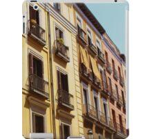 Yellow Apartments in Spain iPad Case/Skin