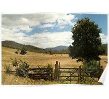 Joe Mortelliti Gallery - Wonnangatta valley, alpine Victoria, Australia.  Poster