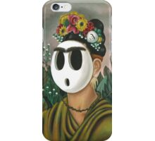 Frida Kahlo Guy iPhone Case/Skin