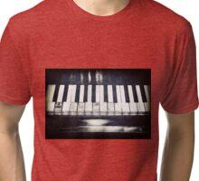 Broken Keys Tri-blend T-Shirt
