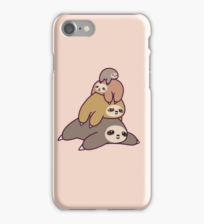 Sloth Stack iPhone Case/Skin