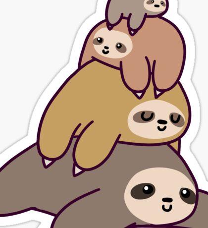 Sloth Stack Sticker