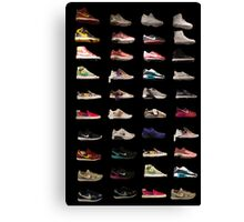 Shoes on Shoes on Shoes Canvas Print