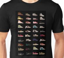 Shoes on Shoes on Shoes Unisex T-Shirt