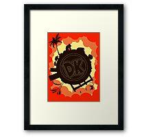 DK: Sunset Shore Framed Print