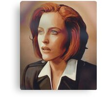 Agent Scully (w/o text) Canvas Print