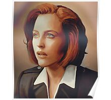 Agent Scully (w/o text) Poster