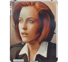 Agent Scully (w/o text) iPad Case/Skin