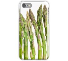 Asparagus Isolated On White Background iPhone Case/Skin