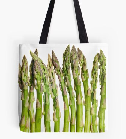 Asparagus Isolated On White Background Tote Bag