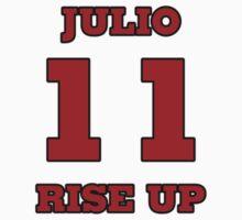 Julio Jones Atlanta Falcons Rise Up Kids Tee