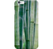 Green Zen Bamboo Stalks iPhone Case/Skin