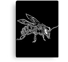 """""""Bee Spirit"""" ver.2 - Surreal abstract tribal bee totem animal Canvas Print"""