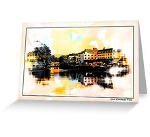 Donegal town and the mouth of the Esk Greeting Card