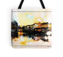 Donegal town and the mouth of the Esk Tote Bag
