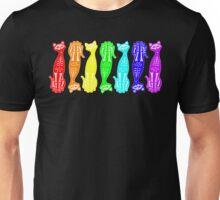 Rainbow Kitten Bones Repeat Unisex T-Shirt