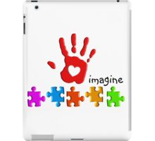 Autism Awareness Childs Hand iPad Case/Skin
