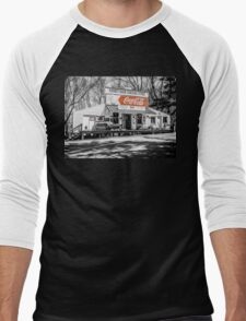 Rabbit Hash Store-Front View SC Men's Baseball ¾ T-Shirt