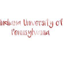 Indiana University of Pennsylvania (IUP) Photographic Print