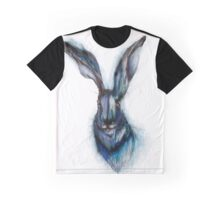 Blue Hare Graphic T-Shirt