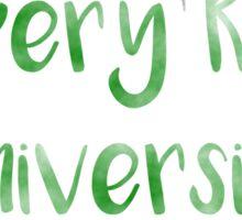 Slippery Rock University (SRU) Sticker