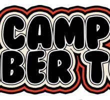 Camp Timber Tops Sticker