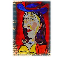 picasso graffiti # 2 Photographic Print